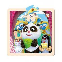Bino Krtek a Panda puzzle, 20 dílků