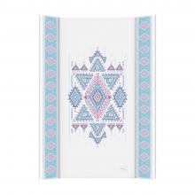 Ceba baby Přebalovací podložka Azteca & Nature s pevnou deskou 70x50 cm