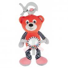 Canpol babies Plyšová vibrující hračka s chrastítkem Medvídci