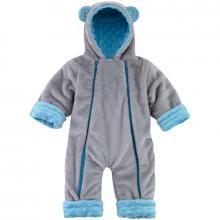 Esito Zimní kojenecký overal Minky Méďa modrá