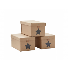 Kids Concept Krabice na boty 3ks