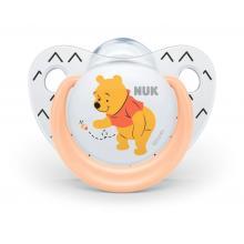 NUK Dudlík silikonový Trendline DISNEY Medvídek Pú 6-18m, 1ks/box