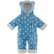 Esito Zimní kojenecký overal Minky Méďa puntík modrá