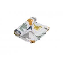 Little Unicorn Mušelínová zavinovací plena 120x120cm