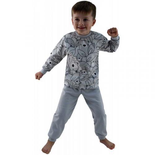 Esito Dětské pyžamo Brumla šedé