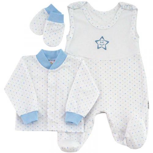 Esito Souprava do porodnice 3 dílná hvězdička modrá