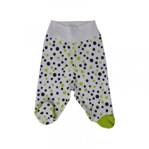 Esito Polodupačky bavlna potisk puntík zelená