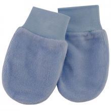 Esito Kojenecké rukavice plyš modrá