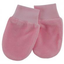 Esito Kojenecké rukavice plyš růžová