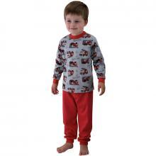 Esito Chlapecké pyžamo hasiči červená