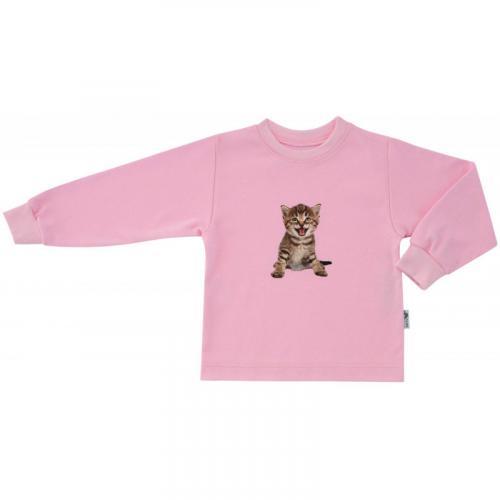 Esito Dětské tričko dlouhý rukáv Kotě