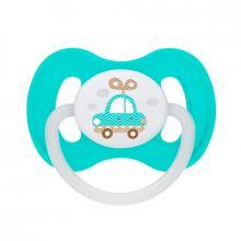 Canpol babies dudlík silikonový symetrický TOYS 6-18m