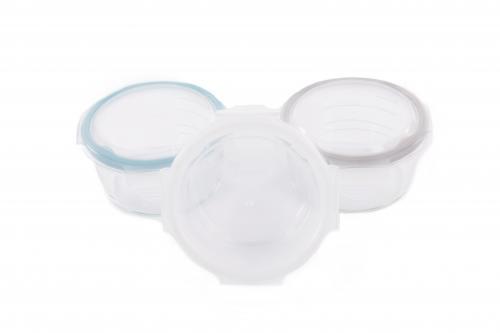Bo Jungle Skleněné misky s víčky B-Glass Bowls 280 ml