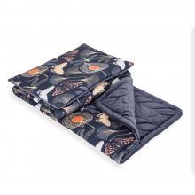 Ceba baby Dětská deka (75x100) + polštářek (30x45) Flora & Fauna