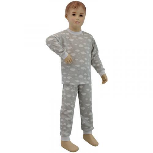 Esito Dětské pyžamo Obláček šedý