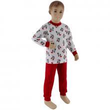 Esito Dívčí pyžamo panda na bílé