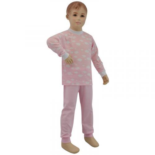 Esito Dívčí pyžamo Obláček růžový