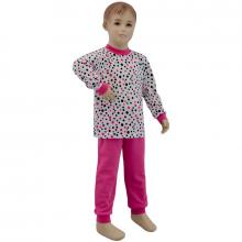 Esito Dívčí pyžamo růžový puntík