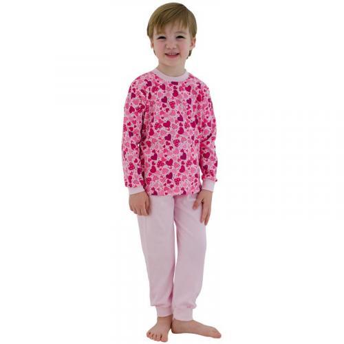 Esito Dívčí pyžamo Srdíčka