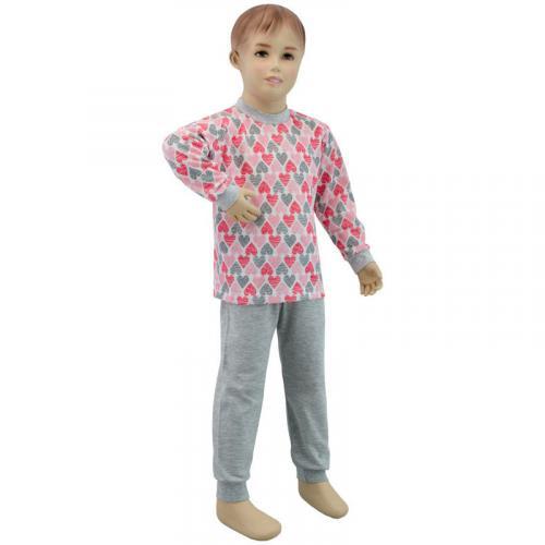 Esito Dívčí pyžamo Velká srdce