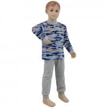Esito Chlapecké pyžamo modrý maskáč