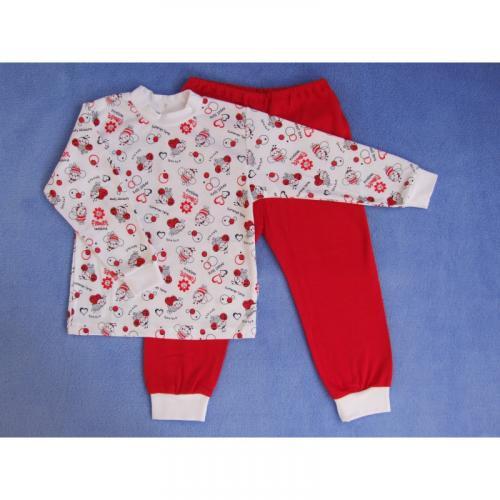 Esito Dívčí pyžamo červené
