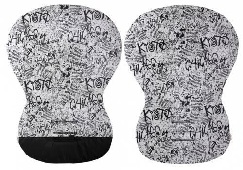 Emitex unipodložka Moby bavlna grafity