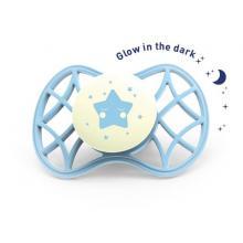 Nuvita fyziologický dudlík Cool svítící ve tmě 0m+
