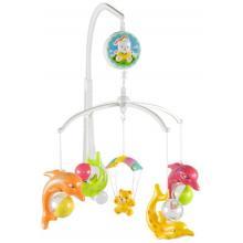 Sunbaby kolotoč nad postýlku s plastovými hračkami
