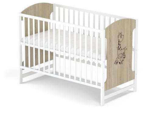 Babysky dřevěná postýlka Miki bez šuplíku