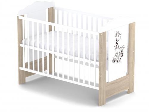 Babysky dřevěná postýlka Ella bez šuplíku