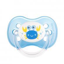 Canpol babies dudlík silikonový třešinka 18m+ NATURE