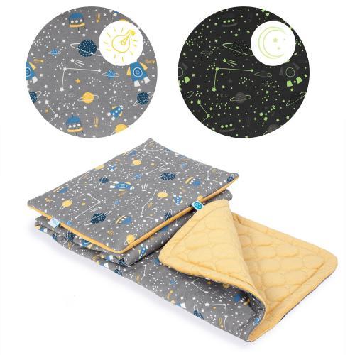 Ceba baby Dětská deka (75x100) + polštářek (30x45) Candy Andy