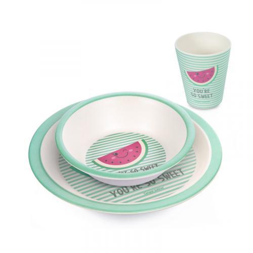 Canpol babies Bambusový set nádobí SO COOL 3 ks