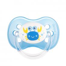 Canpol babies dudlík silikonový třešinka 0-6m NATURE