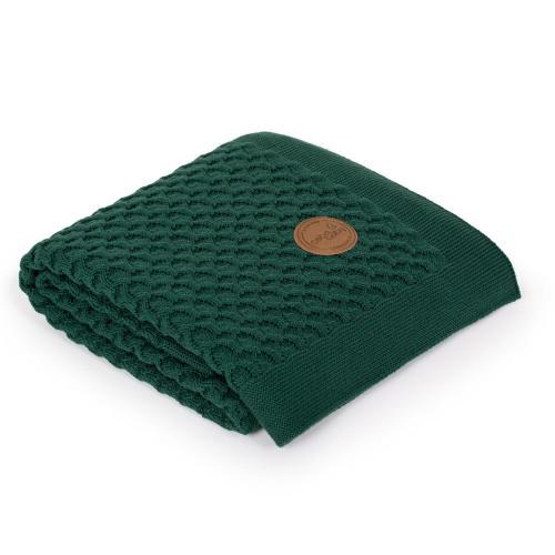 Ceba baby Pletená deka Vlny v dárkovém krabičce 90 x 90 cm