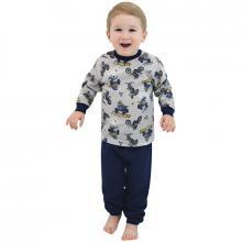 Esito Chlapecké pyžamo Motorky na šedé