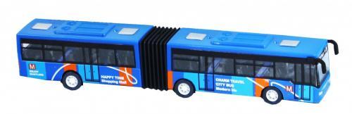 Rappa Autobus kovový kloubový 3 druhy