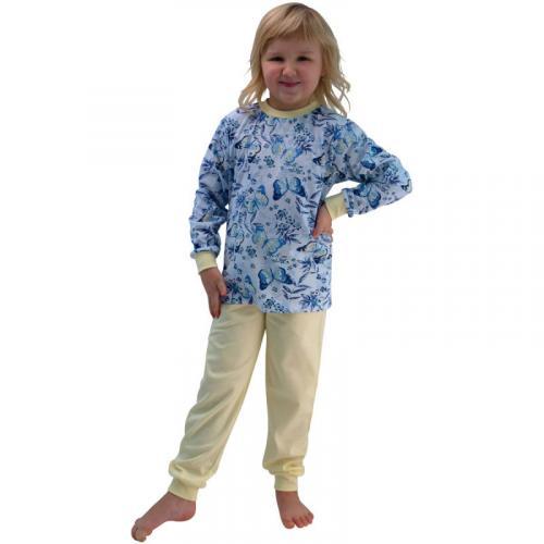 Esito Dívčí pyžamo Motýl
