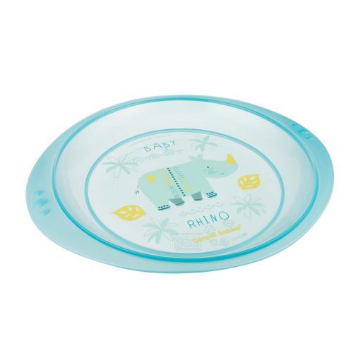 Canpol babies plastový talíř AFRIKA