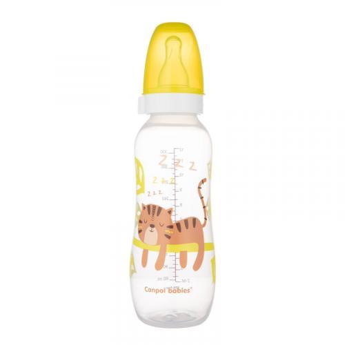 Canpol babies láhev s potiskem AFRIKA 330 ml