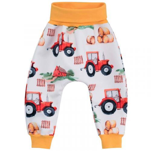 Esito Dětské softshellové kalhoty Traktor