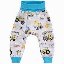 Esito Dětské softshellové kalhoty Stavební stroje