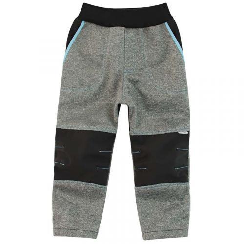 Esito Dětské softshellové kalhoty tyrkysová