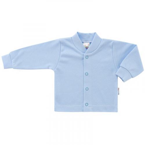 Esito Kojenecký kabátek bavlněný jednobarevný modrý