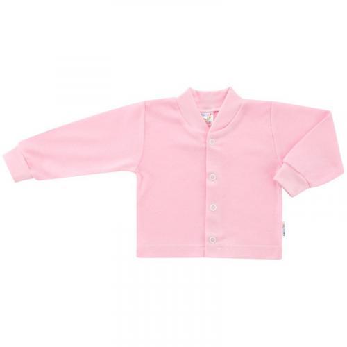 Esito Kojenecký kabátek bavlněný jednobarevný růžový