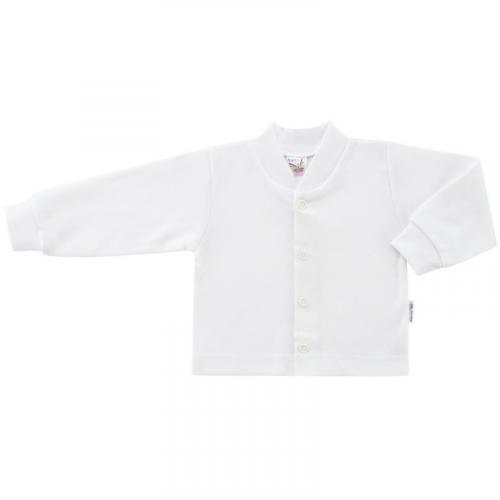Esito Kojenecký kabátek plyšový jednobarevný bílý