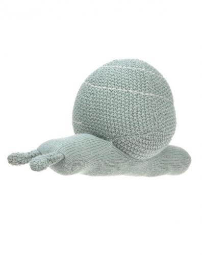 Lässig BABIES Knitted Toy with Rattle Garden Explorer snail