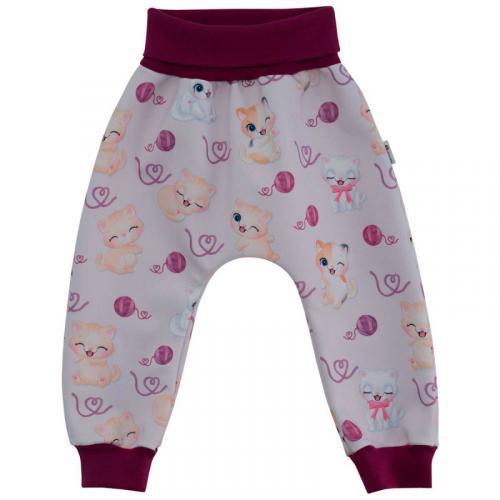 Esito Dětské softshellové kalhoty Kočičky