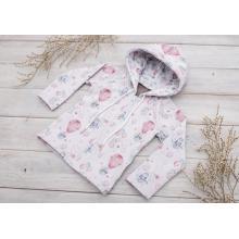 Sparrow Softshellová bunda s fleecem Bílá+Králíček